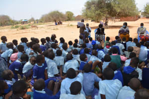 The Water Project: Mang'uu Primary School -  Students At The Hygiene And Sanitation Training