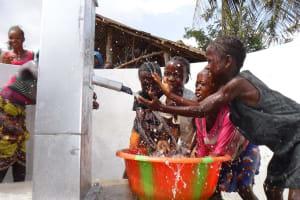 The Water Project: Lokomasama, Rotain Village -  Kids Celebrate At The Well