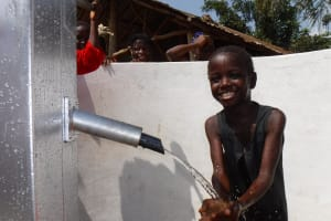 The Water Project: Lokomasama, Rotain Village -  Smiles For Reliable Water