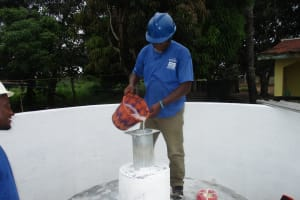 The Water Project: Lungi, Suctarr, #47 Kamara Street -  Chlorination