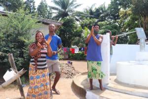 The Water Project: Lungi, Suctarr, #47 Kamara Street -  Dedication Celebration