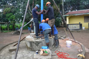 The Water Project: Lungi, Suctarr, #47 Kamara Street -  Drilling