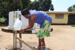 The Water Project: Lungi, Suctarr, #47 Kamara Street -  Handwashing Before Using The Well