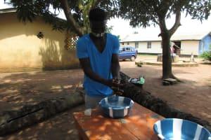The Water Project: Lungi, Suctarr, #47 Kamara Street -  Handwashing Demonstration