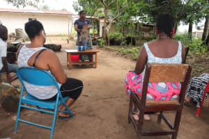 The Water Project: Lungi, Suctarr, #47 Kamara Street -  Hygiene And Sanitation Training