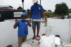 The Water Project: Lungi, Suctarr, #47 Kamara Street -  Pump Installation