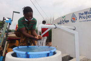 The Water Project: Lungi, Rotifunk, 22 Kasongha Road -  At The Well