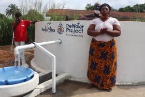 The Water Project: Lungi, Rotifunk, 22 Kasongha Road -  Speech At The Dedication