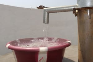 The Water Project: Lungi, Tintafor, Police Barracks E-Line Block 7 -  Clean Water Flowing