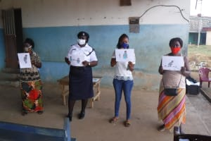 The Water Project: Lungi, Tintafor, Police Barracks E-Line Block 7 -  Displaying Posters