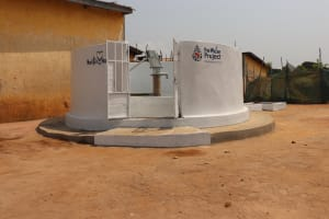 The Water Project: Lungi, Tintafor, Police Barracks E-Line Block 7 -  Finished Project