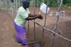 The Water Project: Lungi, Tintafor, Police Barracks E-Line Block 7 -  Handwashing