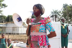 The Water Project: Lungi, Tintafor, Sierra Leone Church Primary School -  Head Teacher Jessica A Weekes