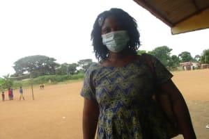 The Water Project: Lungi, Tintafor, Sierra Leone Church Primary School -  Salamatu Diawo