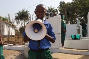 The Water Project: Lungi, Tintafor, Sierra Leone Church Primary School -  Sembo C