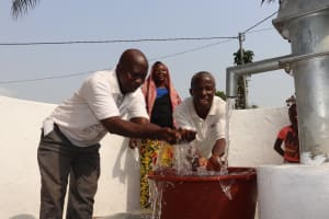 The Water Project: Lungi, Masoila, Off Swarray Deen Street (BAH) -  Celebrating The Well