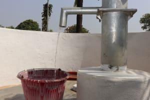 The Water Project: Lungi, Masoila, Off Swarray Deen Street (BAH) -  Clean Water Flowing