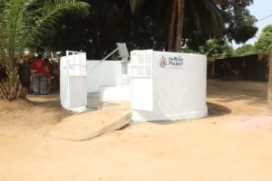 The Water Project: Lungi, Masoila, Off Swarray Deen Street (BAH) -  Completed Well