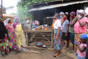 The Water Project: Lungi, Masoila, Off Swarray Deen Street (BAH) -  Dishrack Discussion