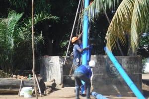 The Water Project: Lungi, Masoila, Off Swarray Deen Street (BAH) -  Drilling