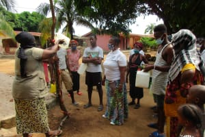 The Water Project: Lungi, Masoila, Off Swarray Deen Street (BAH) -  Handwashing With A Tippy Tap