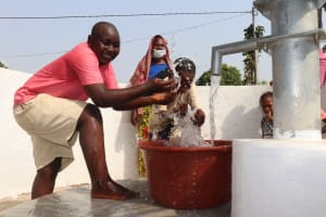 The Water Project: Lungi, Masoila, Off Swarray Deen Street (BAH) -  Happy For Reliable Water