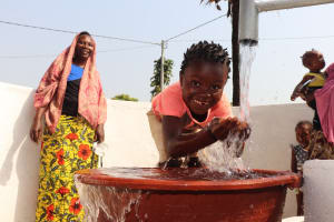 The Water Project: Lungi, Masoila, Off Swarray Deen Street (BAH) -  Smiles At The Well
