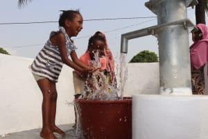 The Water Project: Lungi, Masoila, Off Swarray Deen Street (BAH) -  Well Celebration