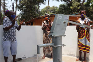 The Water Project: Lokomasama, Satamodia Village -  Celebrating The New Well