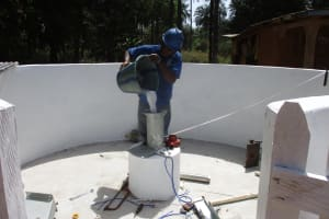 The Water Project: Lokomasama, Satamodia Village -  Chlorination