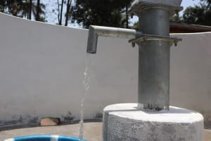 The Water Project: Lokomasama, Satamodia Village -  Clean Water Flowing
