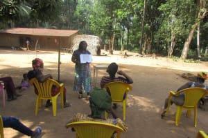 The Water Project: Lokomasama, Satamodia Village -  Sanitation Training Poster