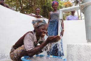 The Water Project: Lokomasama, Satamodia Village -  Smiles For New Well