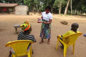 The Water Project: Lokomasama, Satamodia Village -  Toothbrushing Demonstration