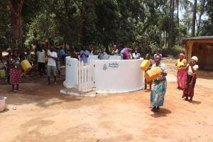 The Water Project: Lokomasama, Satamodia Village -  Well Dedication