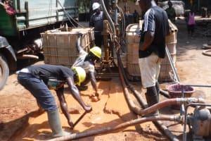 The Water Project: Lokomasama, Satamodia Village -  Drilling