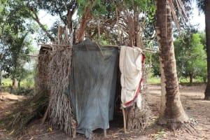 The Water Project: Kamasondo, Robay Village, Next to Mosque -  Bath Shelter
