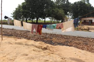 The Water Project: Kamasondo, Robay Village, Next to Mosque -  Clothesline