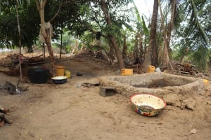 The Water Project: Kamasondo, Robay Village, Next to Mosque -  Place Where Palm Oil Is Processed
