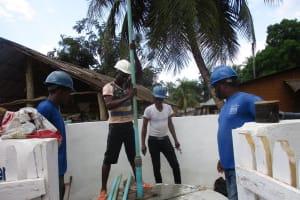 The Water Project: Lokomasama, Rotain Village -  Pump Installation