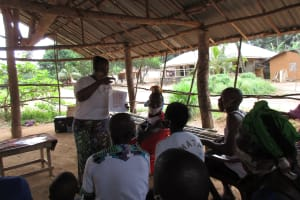The Water Project: Lokomasama, Rotain Village -  Importance Of Latrines