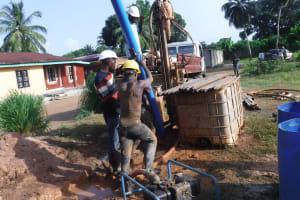 The Water Project: Lungi, Rotifunk, 22 Kasongha Road -  Drilling