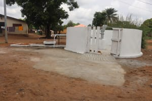 The Water Project: Lungi, Rotifunk, 22 Kasongha Road -  Finished Project