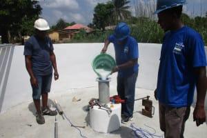 The Water Project: Lungi, Rotifunk, 22 Kasongha Road -  Chlorination