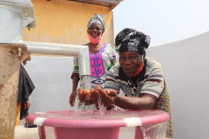 The Water Project: Lungi, Tintafor, Police Barracks E-Line Block 7 -  Clean Water
