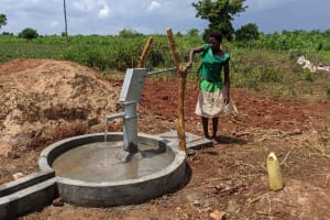 The Water Project: Alero B Community -  Completed Well