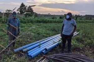 The Water Project: Alero B Community -  Construction Supervisor