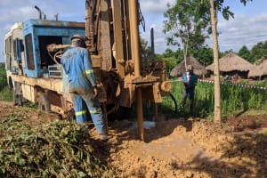 The Water Project: Alero B Community -  Drilling
