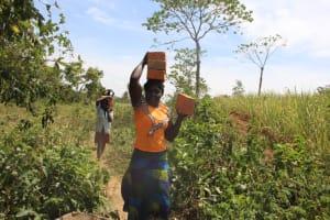 The Water Project: Litinye Community, Vuyanzi Spring -  Community Participation