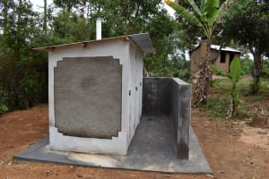 The Water Project: Galona Primary School -  Completed Latrines
